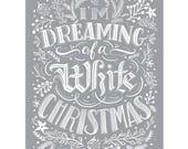 White Christmas - Print