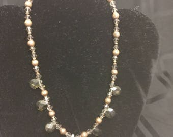 Tranquil Necklet with Bronze Accent