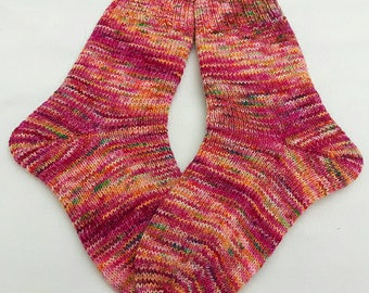 Hand Knit Socks  for Women UK 5-7, US 7-9 Piratenwolle