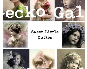 Sweet Little Cuties Collage Sheet