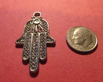 Six  Hamsa Hand Of Fatima   Pendants