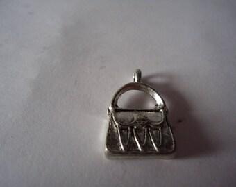 Silver colored pendant
