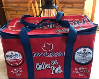Molson 36 soft side cooler