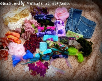 Craft Supplies, Ribbons, Sewing, Inspirations, DIY, Jewelry, Art, Accessories, Destash, Dolls
