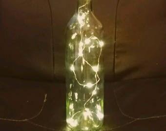 Santa Hat Bottle Topper