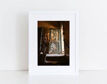 Rusty Factory Door - Urban Exploration - Fine Art Photography Print