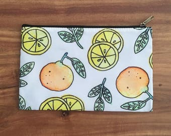 CITRUS DREAMING — cosmetic Bag / coin purse