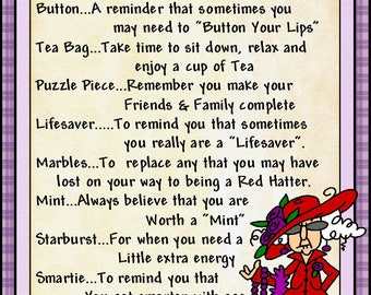 Red Hat Lady Survival Kit