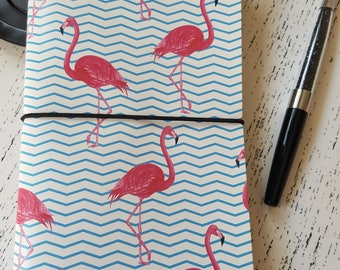Flamingo Life Traveler's Notebook