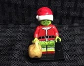 The Grinch Custom Minifigure How the Grinch Stole Christmas Custom Minifigures