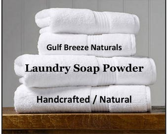 2 oz. Travel Size | Laundry Soap | Detergent Free | Washing Powder | Handcrafted | Great for Activewear