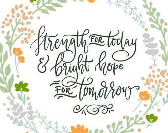 Strength for Today & Bright Hope For Tomorrow, DIGITAL download