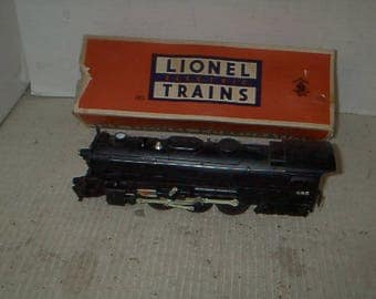Antique Lionel Electric Train Cars and Engine