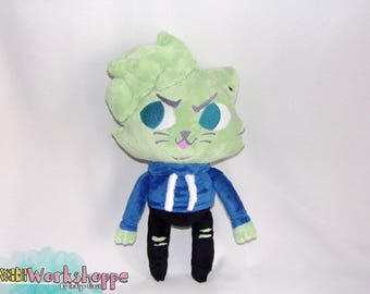 Jacksepticeye x Night in the Woods inspired 33cm minky handcrafted plush (LIMITED)