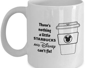 Disney and Starbucks Coffee Cup Mug for Women Girls Gift Present