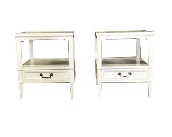 White Transitional Side Tables  | 1234-02837 (Sold Separately)