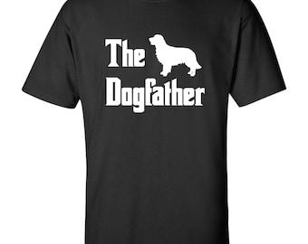 The Dogfather - Golden Retriever T Shirt