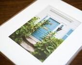 "Wickford Doors in Summer - 11x4"" Print ONLY"
