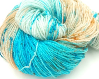 Vestigial Dreams Superwash Merino Fingering Weight Hand Dyed Yarn