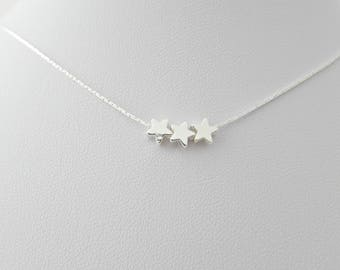 Star Necklace, Silver Star Necklace, StarJewellery, Bridesmaid Gifts, Gifts for Girls, British Seller UK, Sister Gifts, Tiny Star Necklace