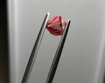 Red Spinel Twin Crystal Mogok Burma MS0065