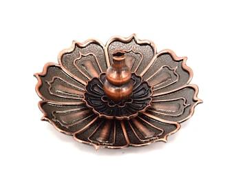 9 Holes Lotus  Metal  Incense Burner Holder Censer Plate , Incense Burner For Stick , Incense Coils