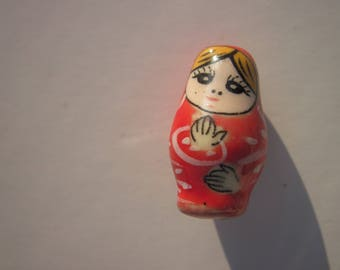 1 Pearl doll Russian porcelain 2.2 cm