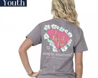 Simply Southern® YTH-PREPPYSC-STEEL