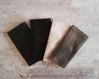 Sale, Black Leather Wallet Women, Leather Purse Wallet, Womens Leather Wallet, Wallets for Women, Handmade Leather Purse Women