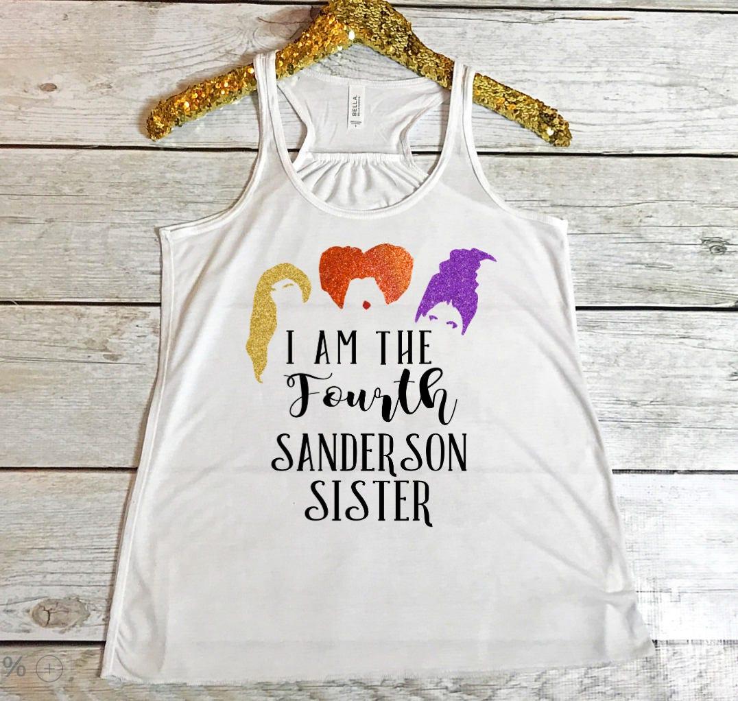 Hocus Pocus Shirt I Am The Fourth Sanderson Sister