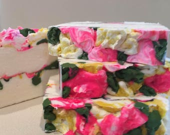 PLUMERIA-Organic,Natural,Vegan SOAP-Handmade by Spa Uptown- w/Gardenia extract