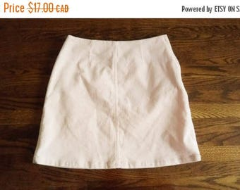 HELLO SUMMER SALE Vintage 90s Pink Corduroy Mini Skirt