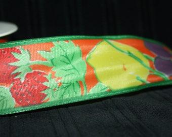 vintage drahtkante flower Ribbon