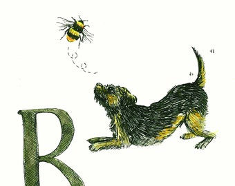 B is for bee...buzzzzzz!