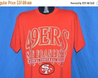 XMAS in JULY SALE 90s San Francisco 49ers t-shirt Large
