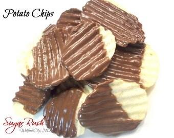 Milk Chocolate Covered Potato Chips