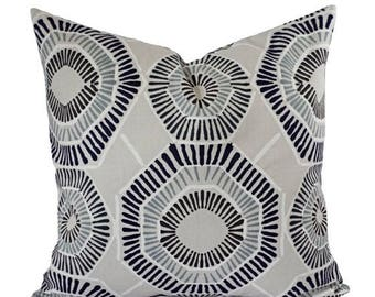15 off sale two pillow covers blue grey and brown throw pillows modern