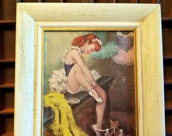 Cydney Grossman Ballerina Print
