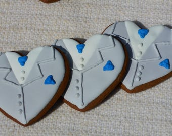 Groom Cookie, Groom Wedding Cookie, Gingerbread Groom Cookie, Sugar Cookie Groom, Wedding Cookie