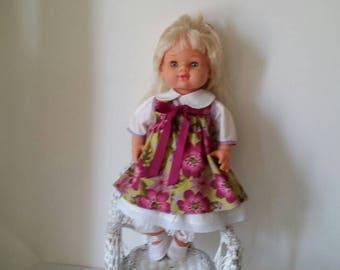 """Vintage  Jesmar  Doll  Cloth And Vinyl 18"""""""
