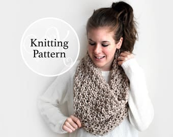 Knitting Pattern Wicomico Cowl Instant Download