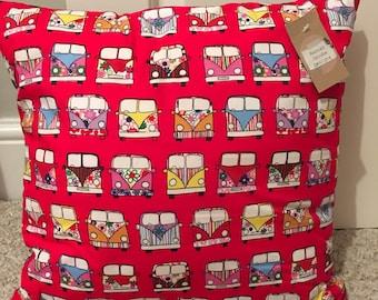 Campervan printed cushion