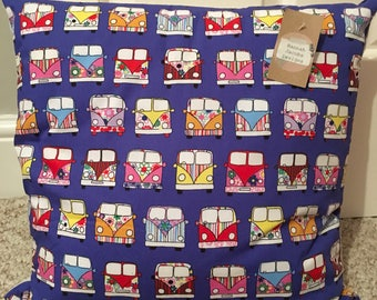Campervan printed cushion