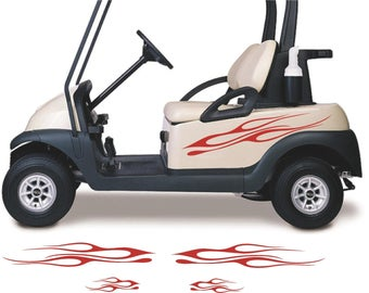 Golf Cart Ezgo Club Car Yamaha 7 Hood Stripe Stripes