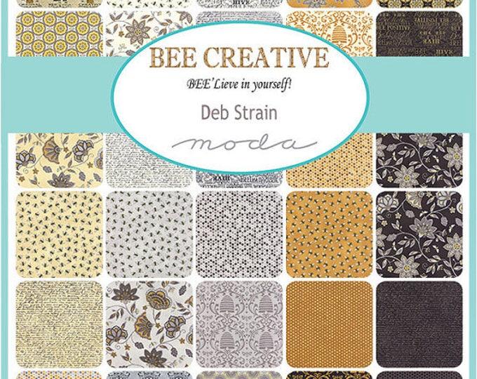 Bee Creative by Moda Deb Strain Charm Pack - 42 cuts 5 inch
