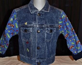 Refurbished Boys Denim  Jacket
