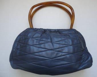 Morris Moskowitz Capeskin Leather Purse