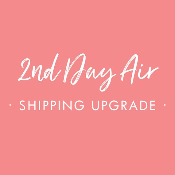 Shipping Upgrade for your Starboard Press 12x12 Guest Book or Journal -  2nd Day Air
