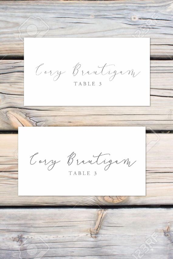 Placecards and escort cards