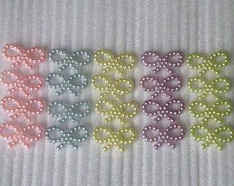 20 Pearl embellishment. DIY decoration. 12 X 9 mm